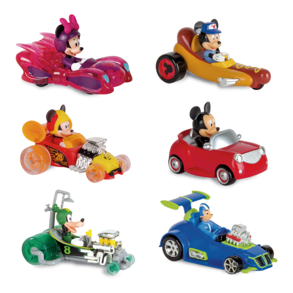 MINI VEHICLES ROADSTER RACERS PACK 1